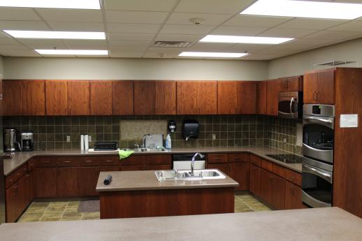 Photo of BCEC Community Room Kitchen